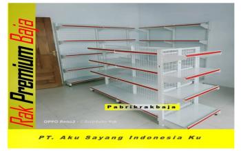 Rak Minimarket Harga Murah Padang
