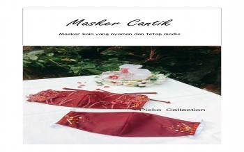 Jahit Masker Custom Pernikahan