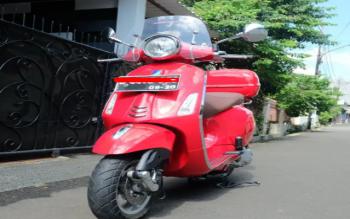 Jual Vespa Piaggio Primavera 150cc 3v Ie Red Rosso Merah, Jakarta